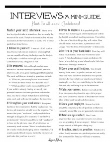 Interview-Mini-Guide