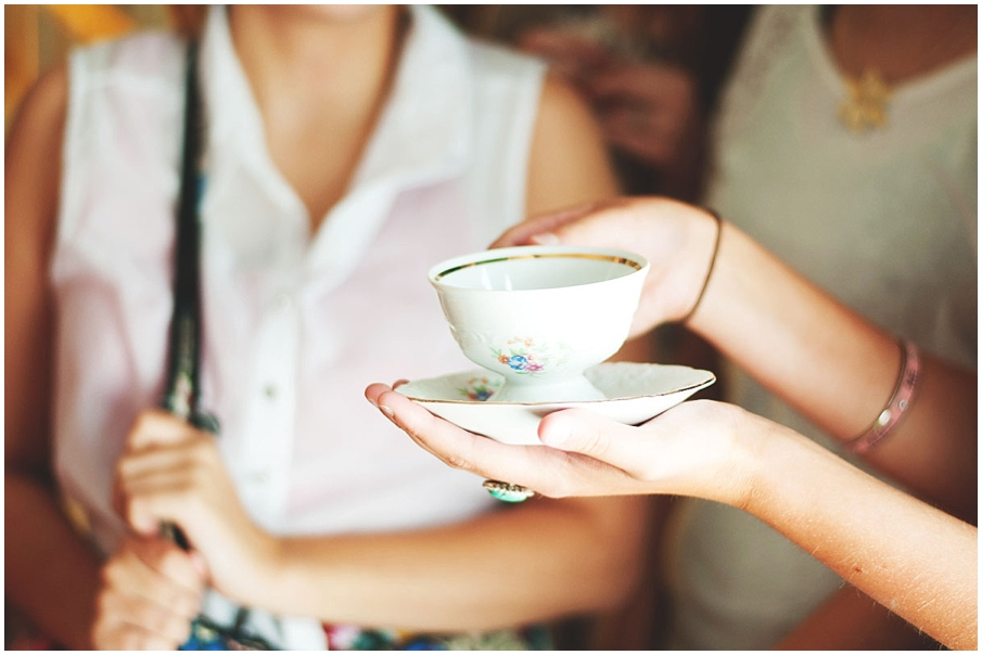 english british tea party surprise