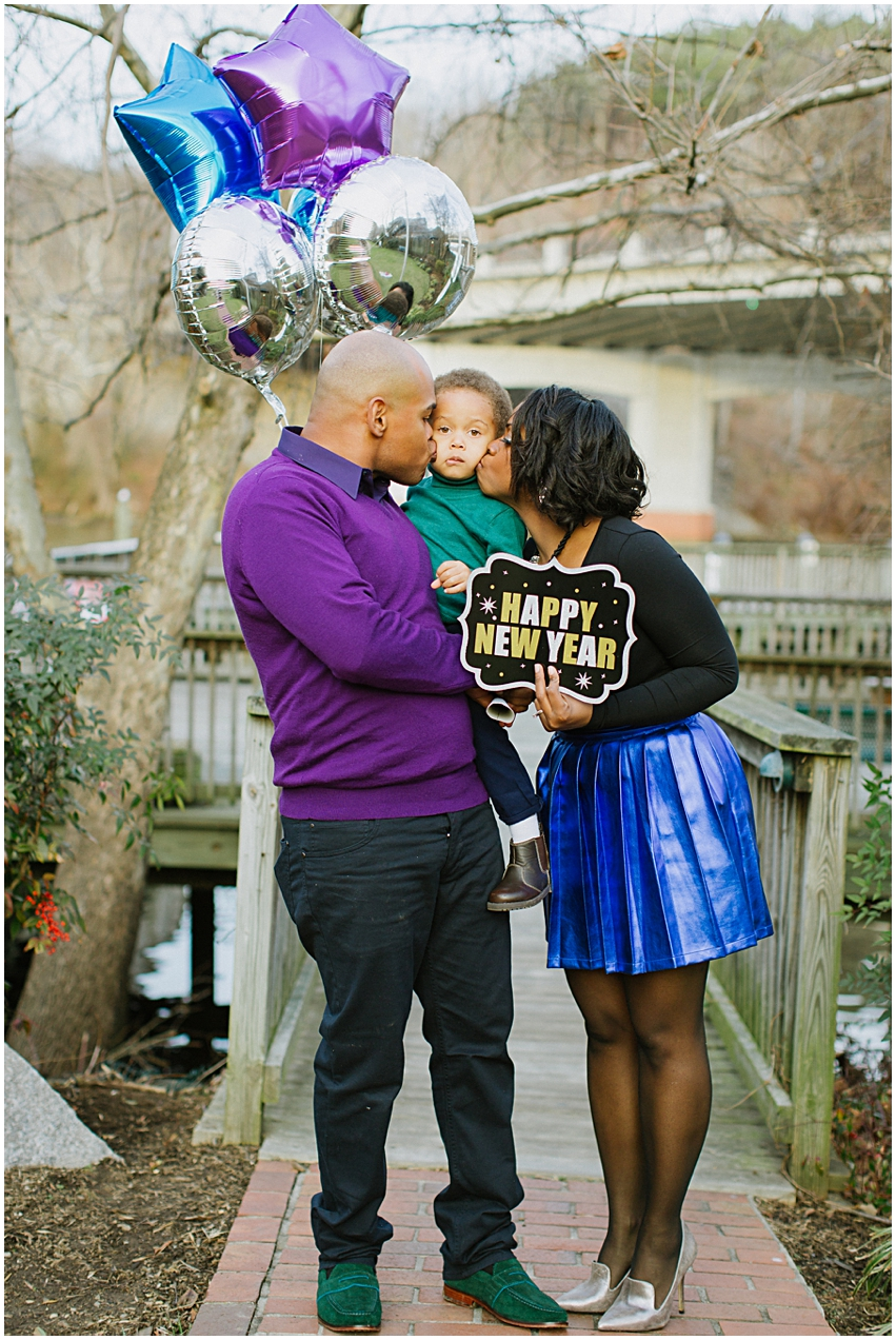 Virginia Photographer Family Session New Years Occoquan