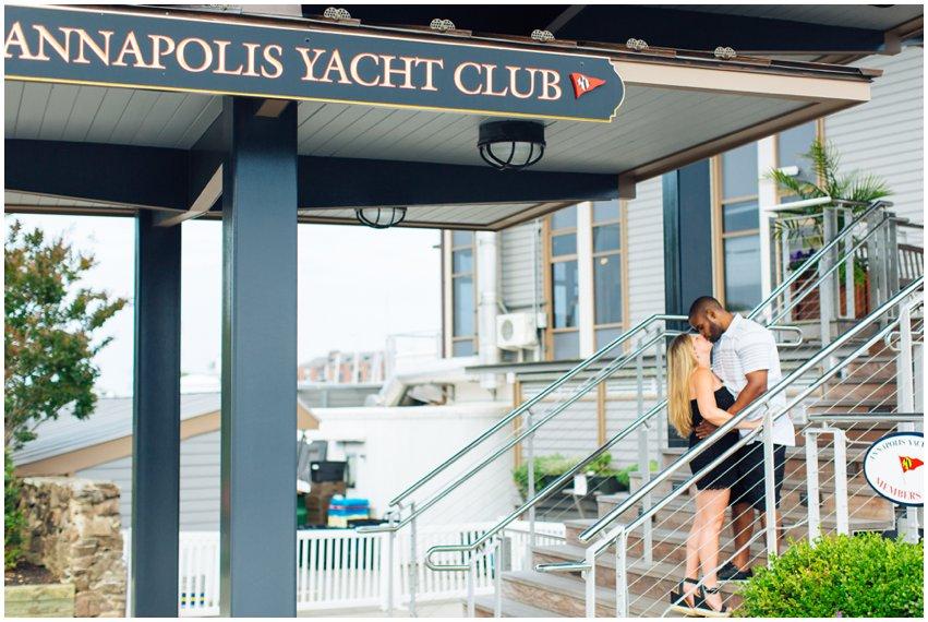 Annapolis Engagement Session Nautical Waterfront Boat Marina Shoot Photographer Virginia Maryland DC Megan Kelsey