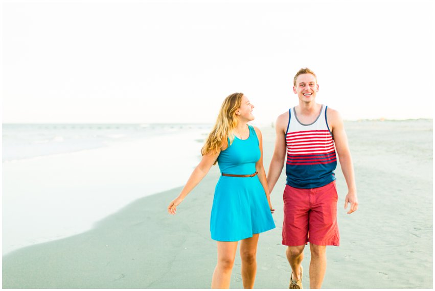 Wildwood New Jersey Beach Portraits Cape May Photographer Couple Love