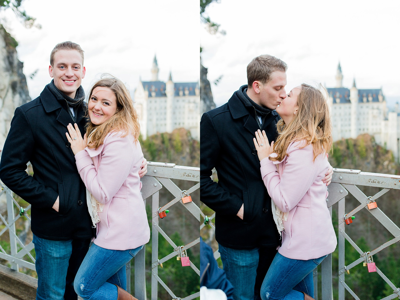 Neuschwanstein Castle Fairytale Proposal