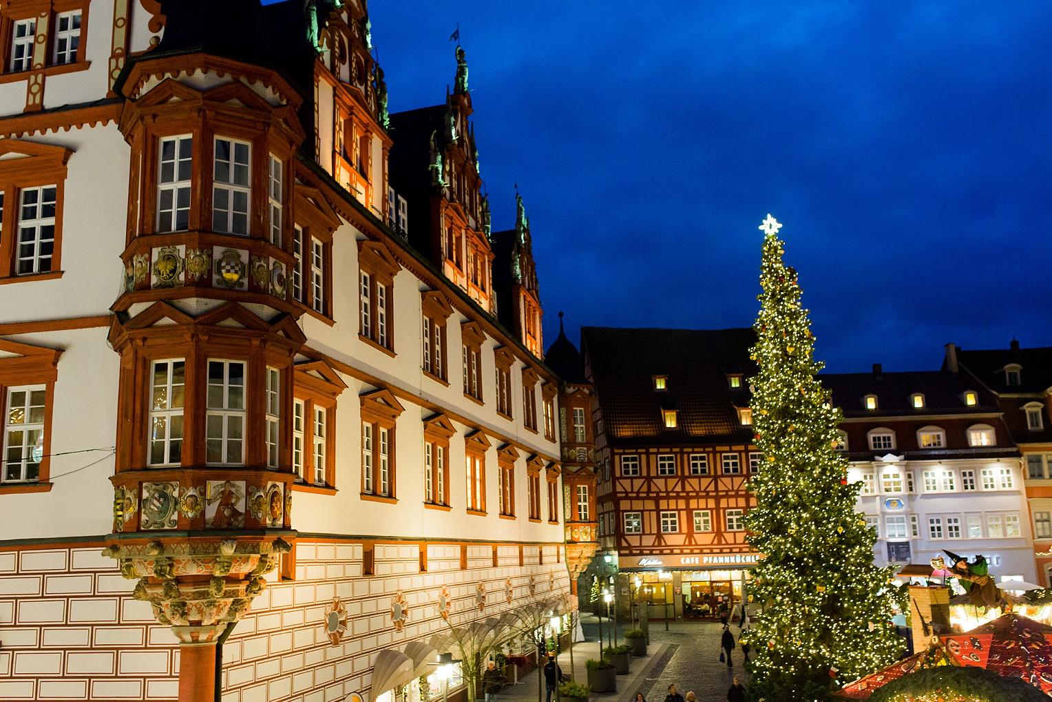 Sonnefeld Coburg Germany Christmas Market