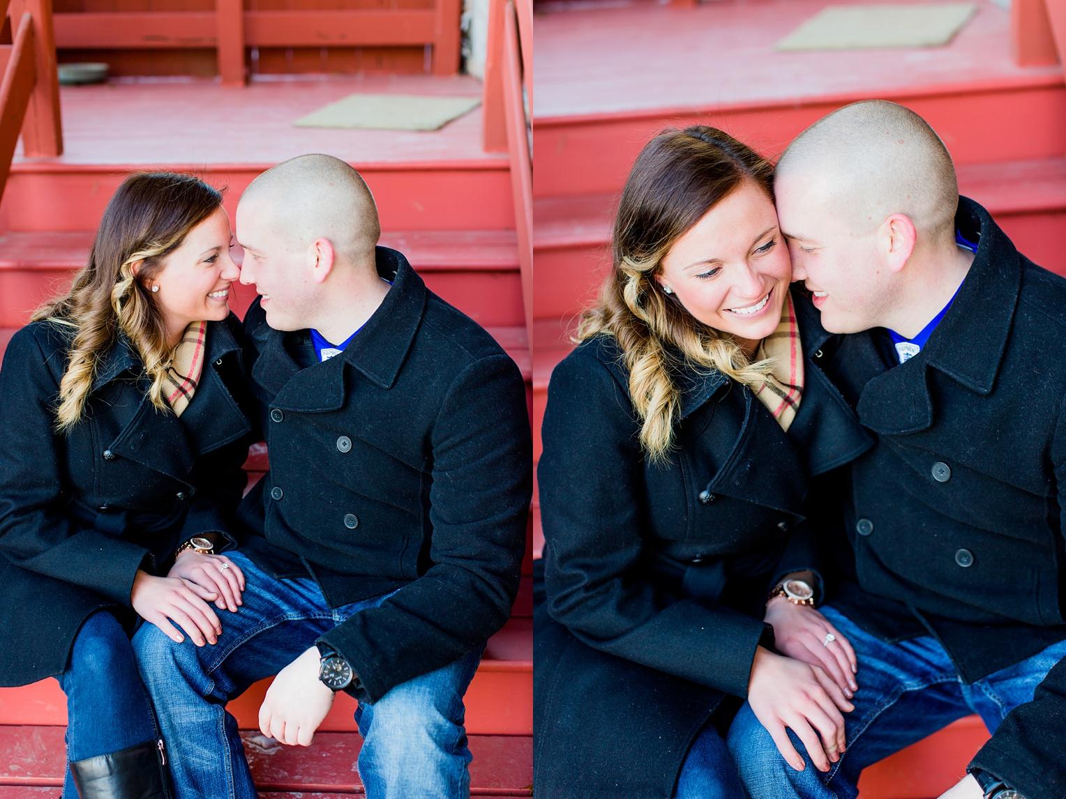 Jerusalem Mill Engagement Session Abingdon Wedding Photographer