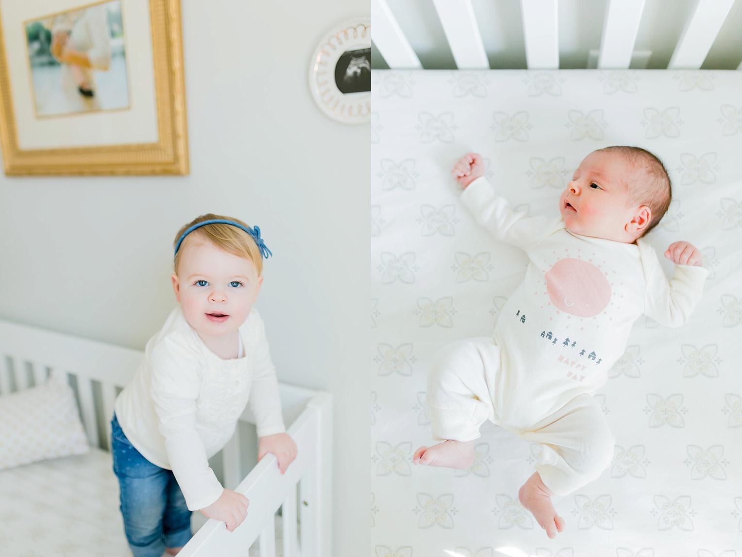 Springfield Virginia Lifestyle Photographer Nursery Newborn Portraits