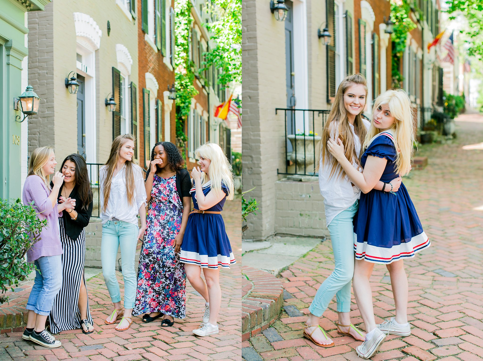 CCA Seniors Class of 2015 Portraits Old Town Alexandria Megan Kelsey Photography-0281.jpg