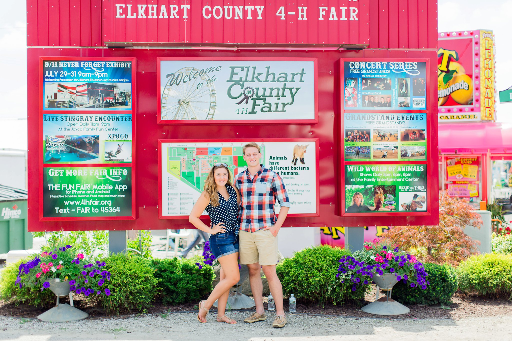 A Day At The Elkhart County 4H Fair | Our 5th Indiana Summer Vacation