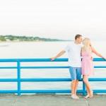 Lake Michigan Engagement Photos | Silver Beach | Nick & Miranda