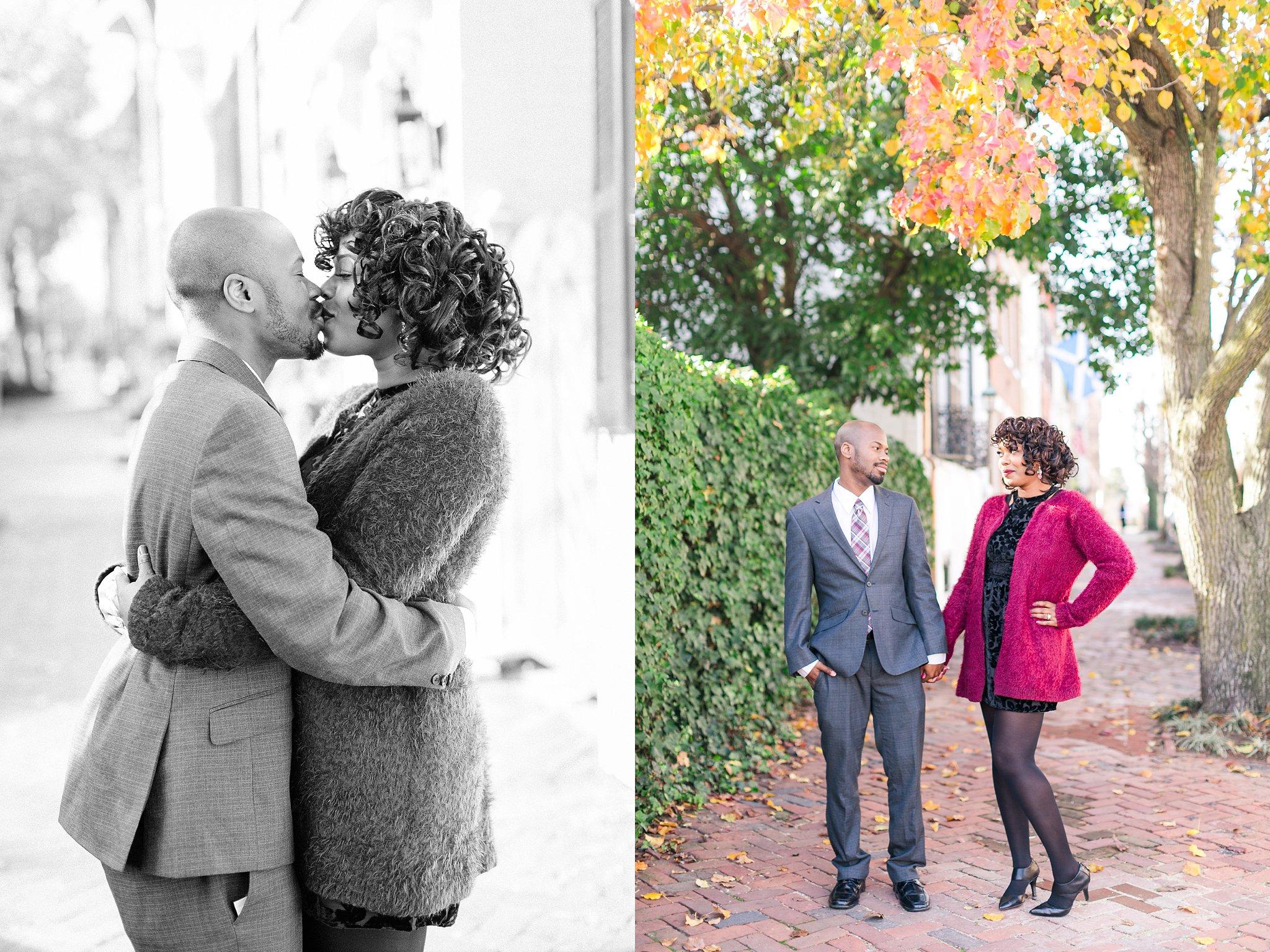 Old Town Alexandria Engagement Photos Northern Virginia Wedding Photographer Megan Kelsey Photography