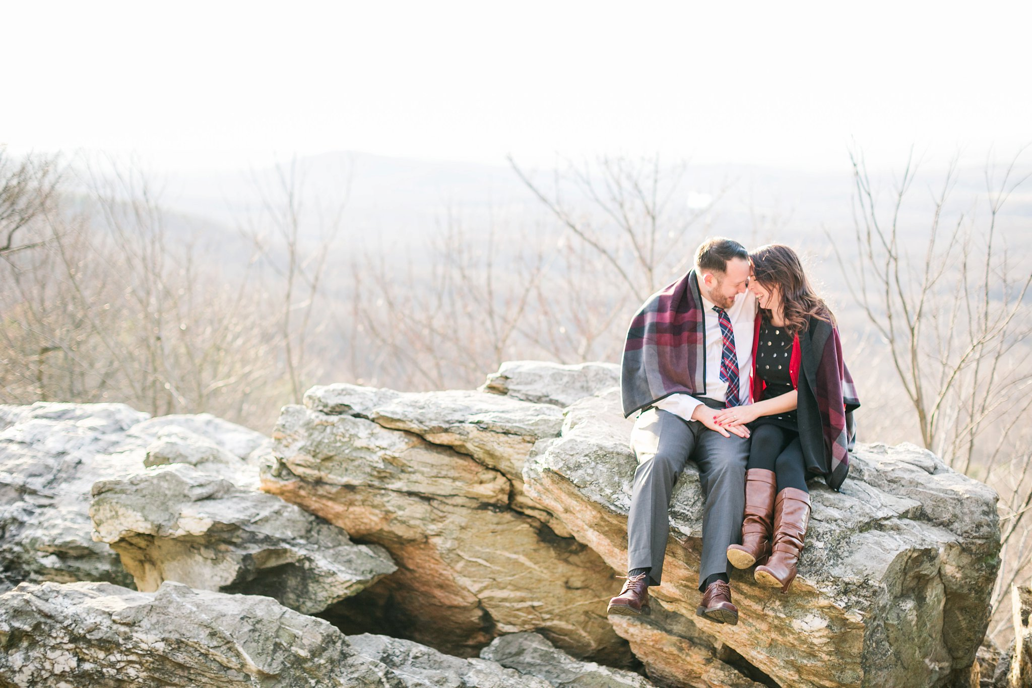Bluemont Winery Engagement Photos Virginia Wedding Photographer Winter Engagement Shoot Megan Kelsey Photography Colleen & Matt-6799_photo.jpg