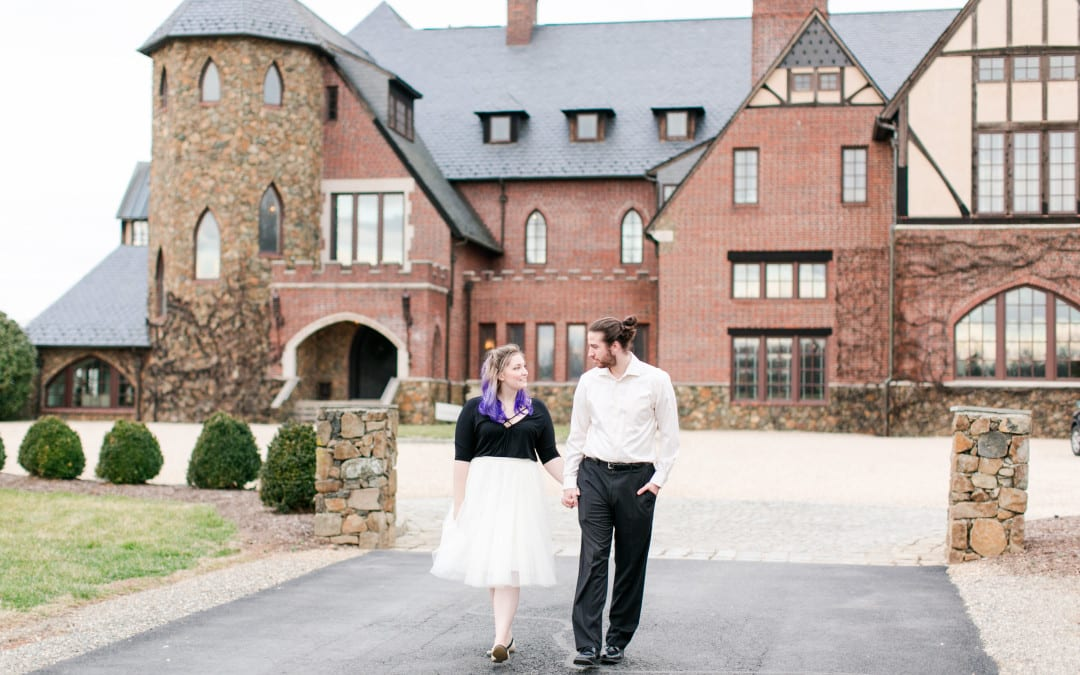 Dover Hall Engagement Photos | Claire & Dan | A Fairytale Estate Shoot