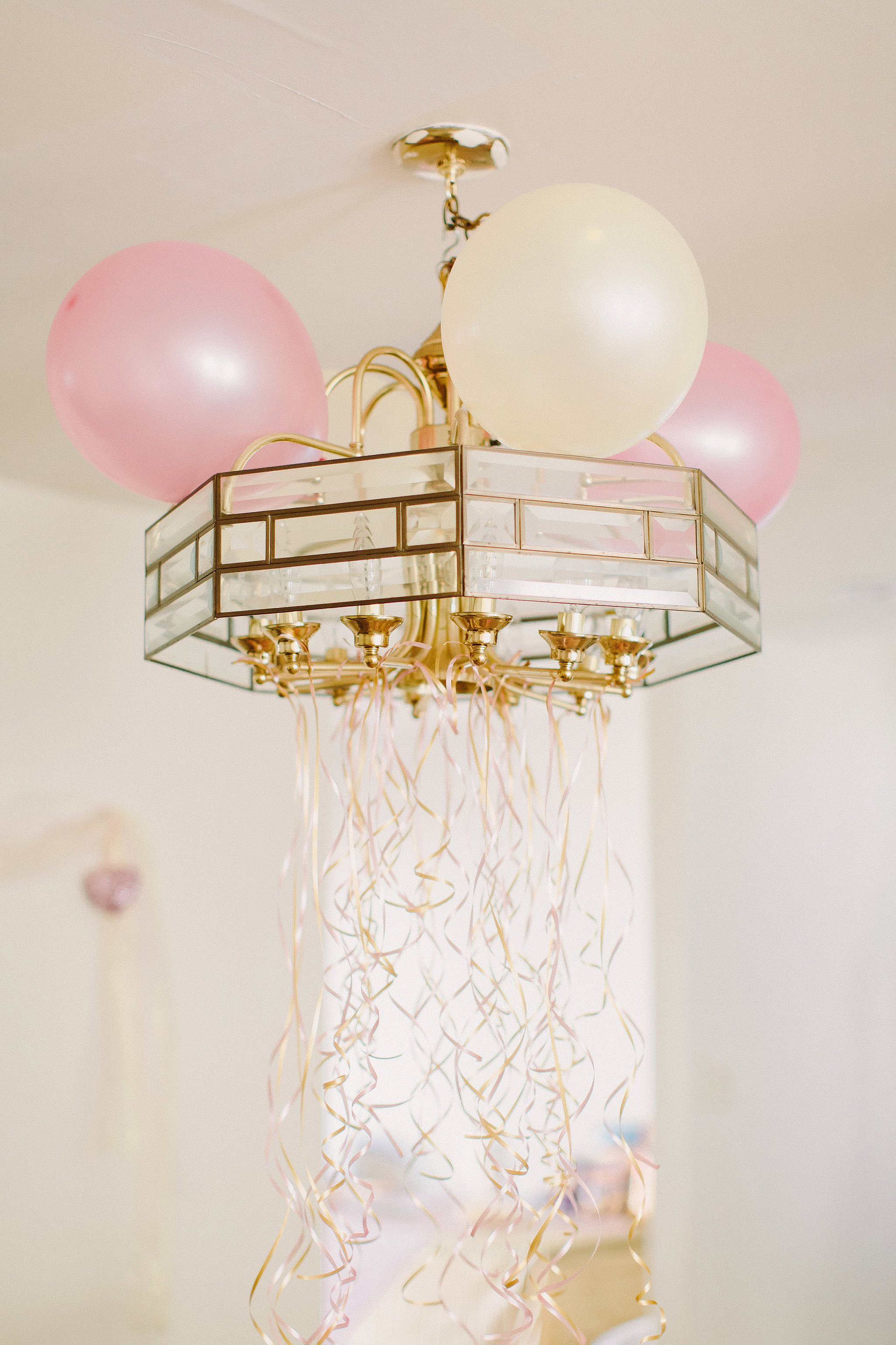 Pink and gold bridal shower brunch photos
