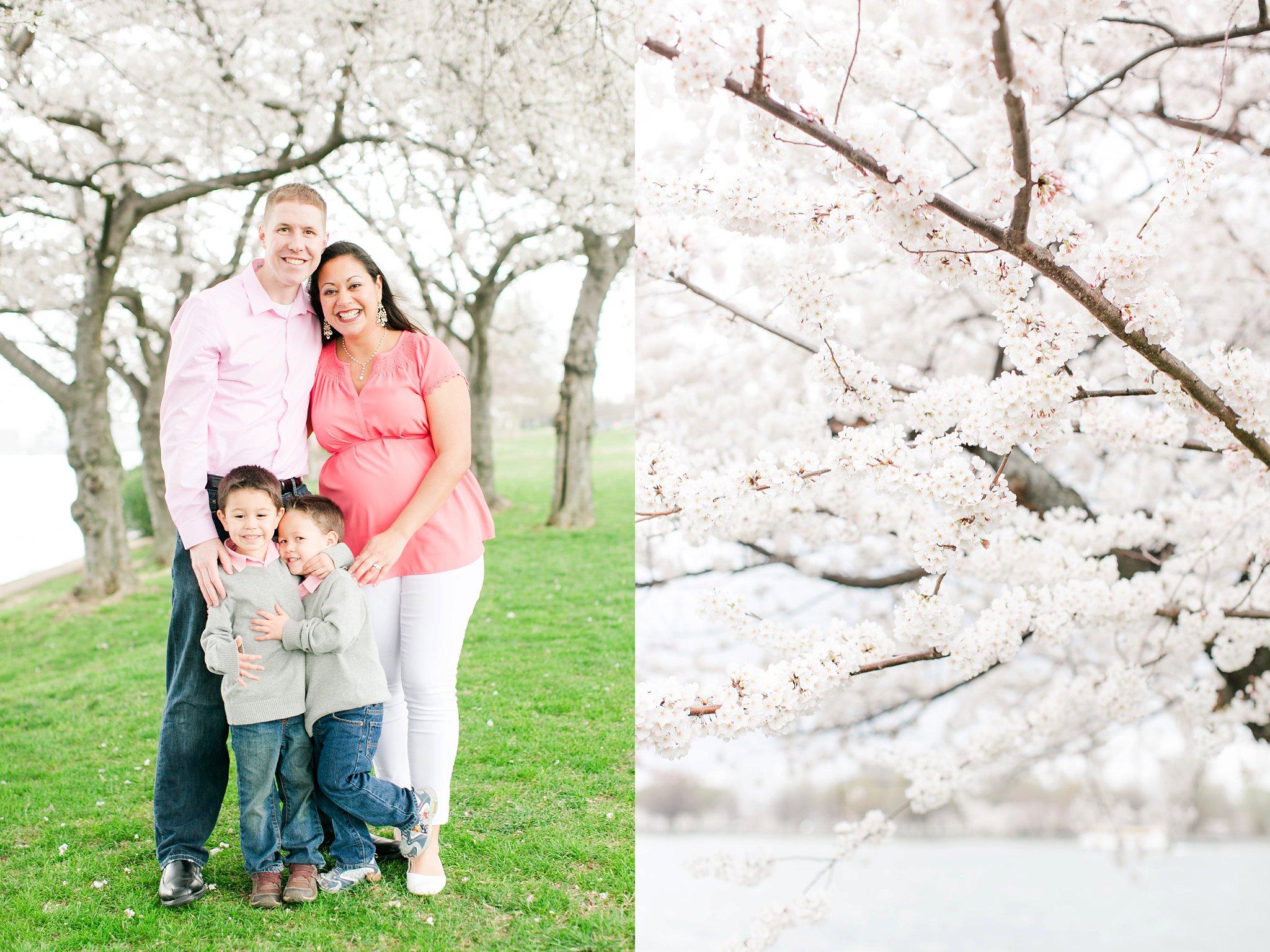 Washington DC Family Photographer Cherry Blossom Portraits Clark Family Megan Kelsey Photography-43.jpg