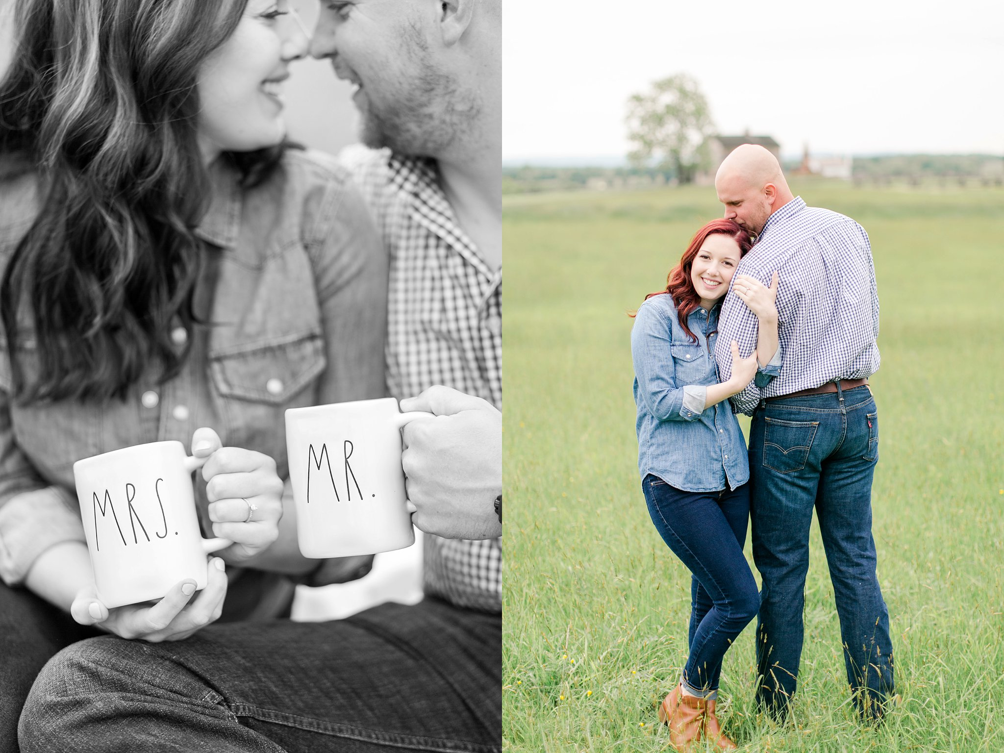 Old Town Manassas Battlefield Engagement Photos Virginia Wedding Photographer Jessica & Jason-138.jpg