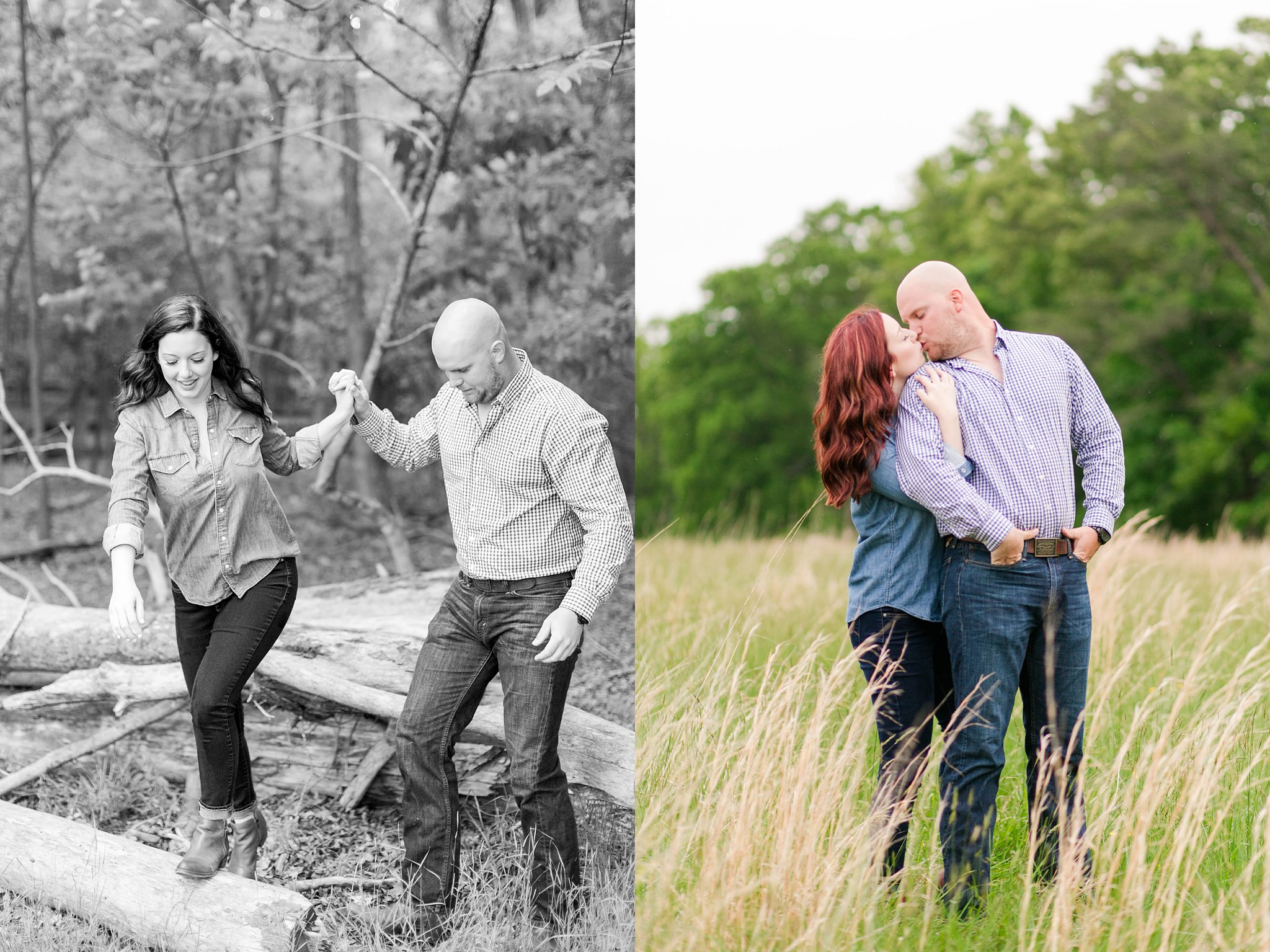 Old Town Manassas Battlefield Engagement Photos Virginia Wedding Photographer Jessica & Jason-158.jpg