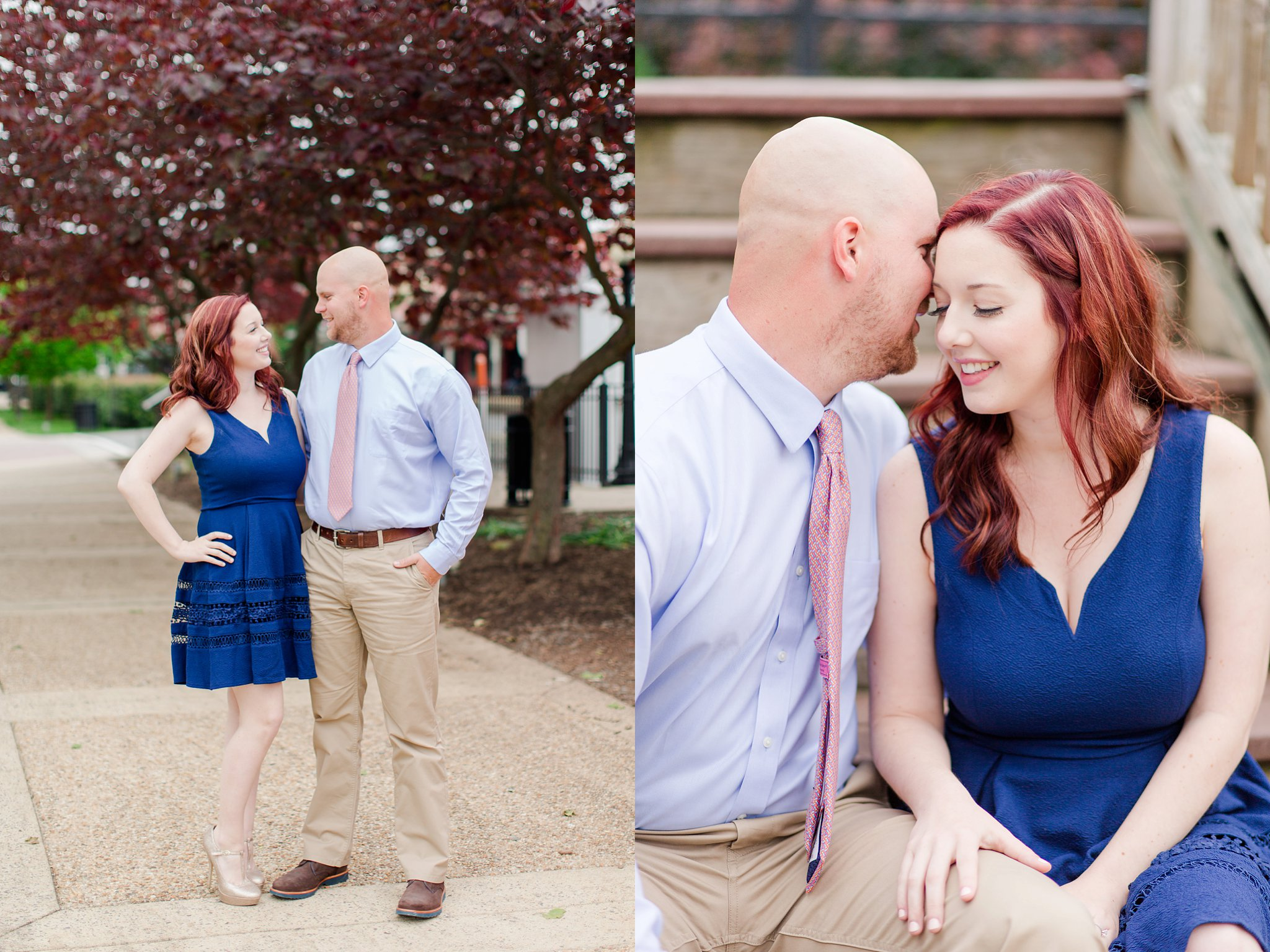 Old Town Manassas Battlefield Engagement Photos Virginia Wedding Photographer Jessica & Jason-2.jpg