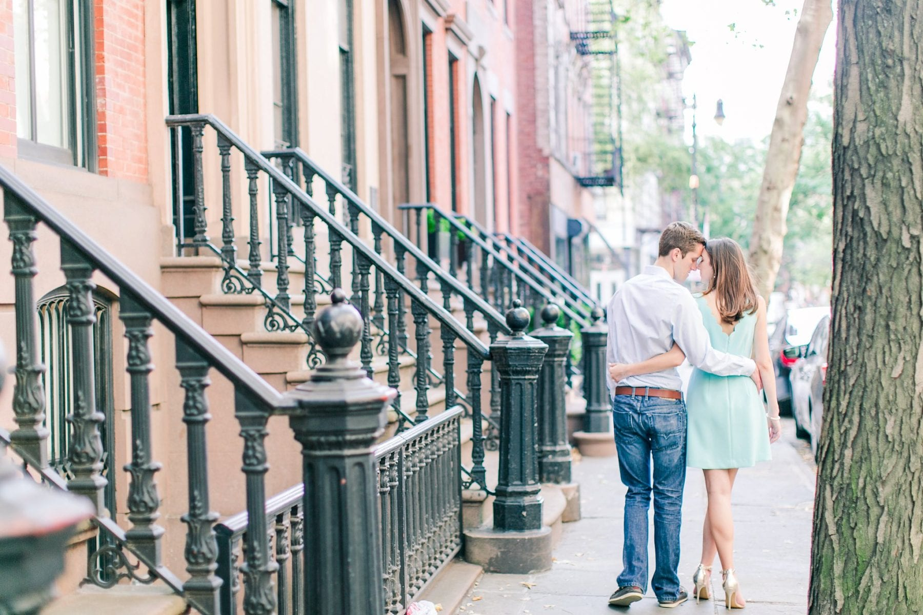 West Village Central Park Engagement Photos NYC Wedding Photographer Megan Kelsey Photography-121.jpg