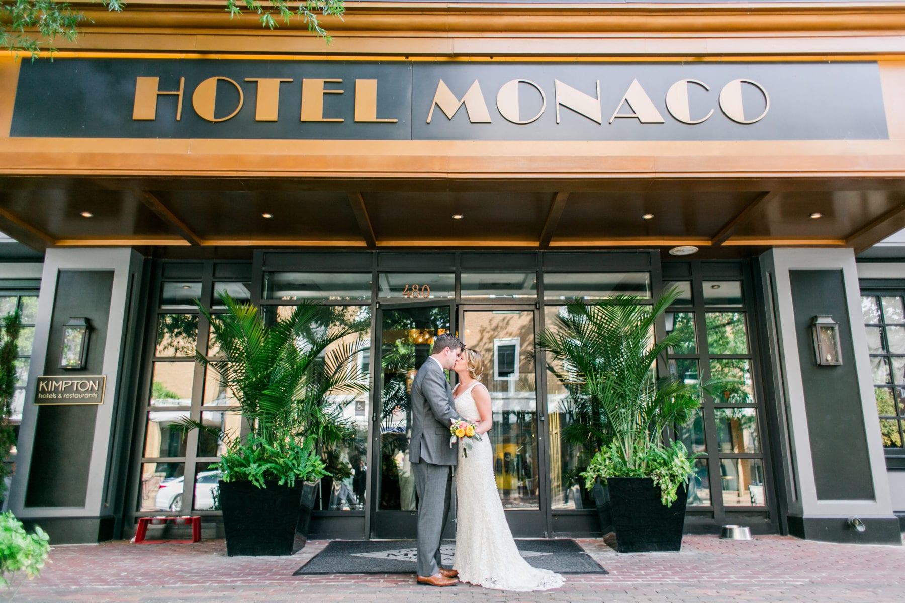 Hotel Monaco Alexandria Wedding Photos | Morgan & Kevin