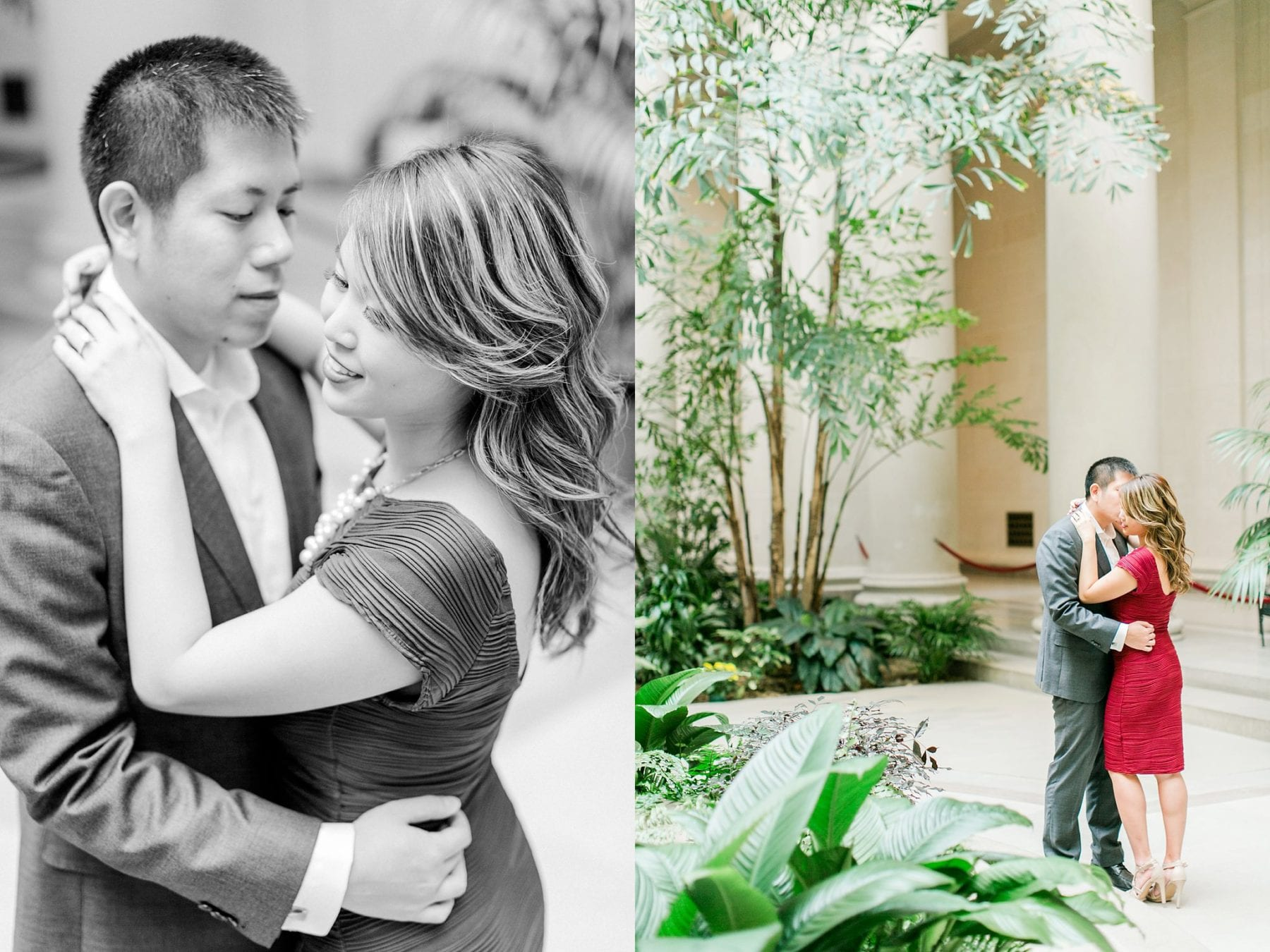 National Gallery of Art Engagement Photos Megan Kelsey Photography Washington DC Wedding Photographer Sy-yu & Anthony-141.jpg