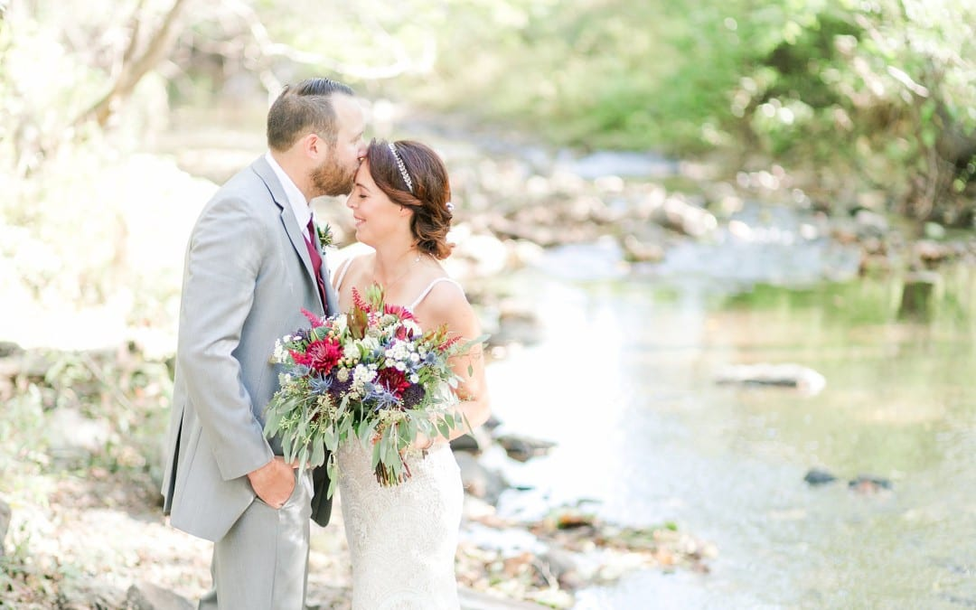 Tranquility Farm Wedding | Colleen & Matt | Rustic Fall Elegance