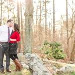 Bluemont Vineyard Engagement Photos | Colleen & Matt | A Virginia Wine Country Winter Engagement Session