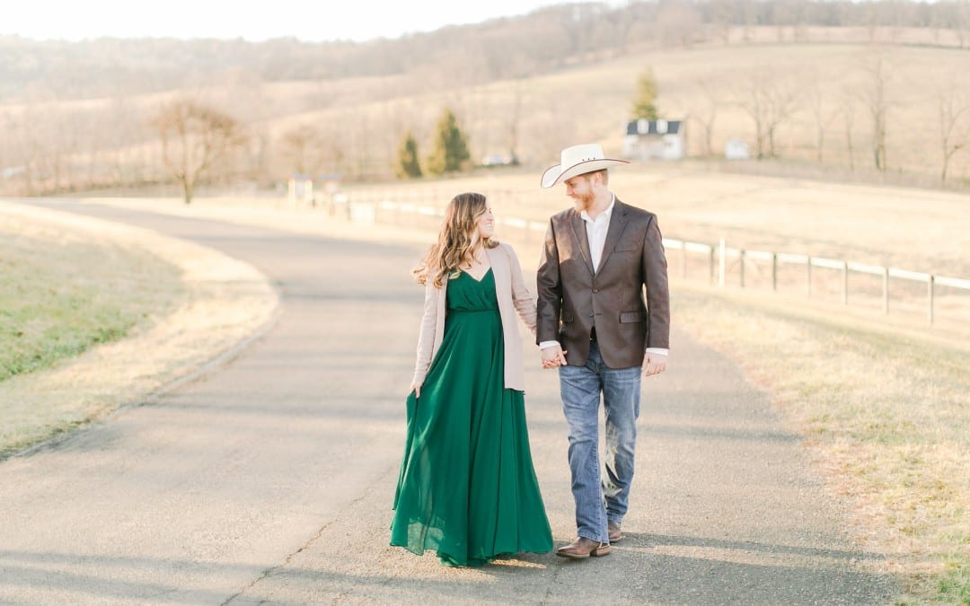 Sky Meadows State Park Photos | Kaitlyn & Josh | A Virginia Countryside Shoot