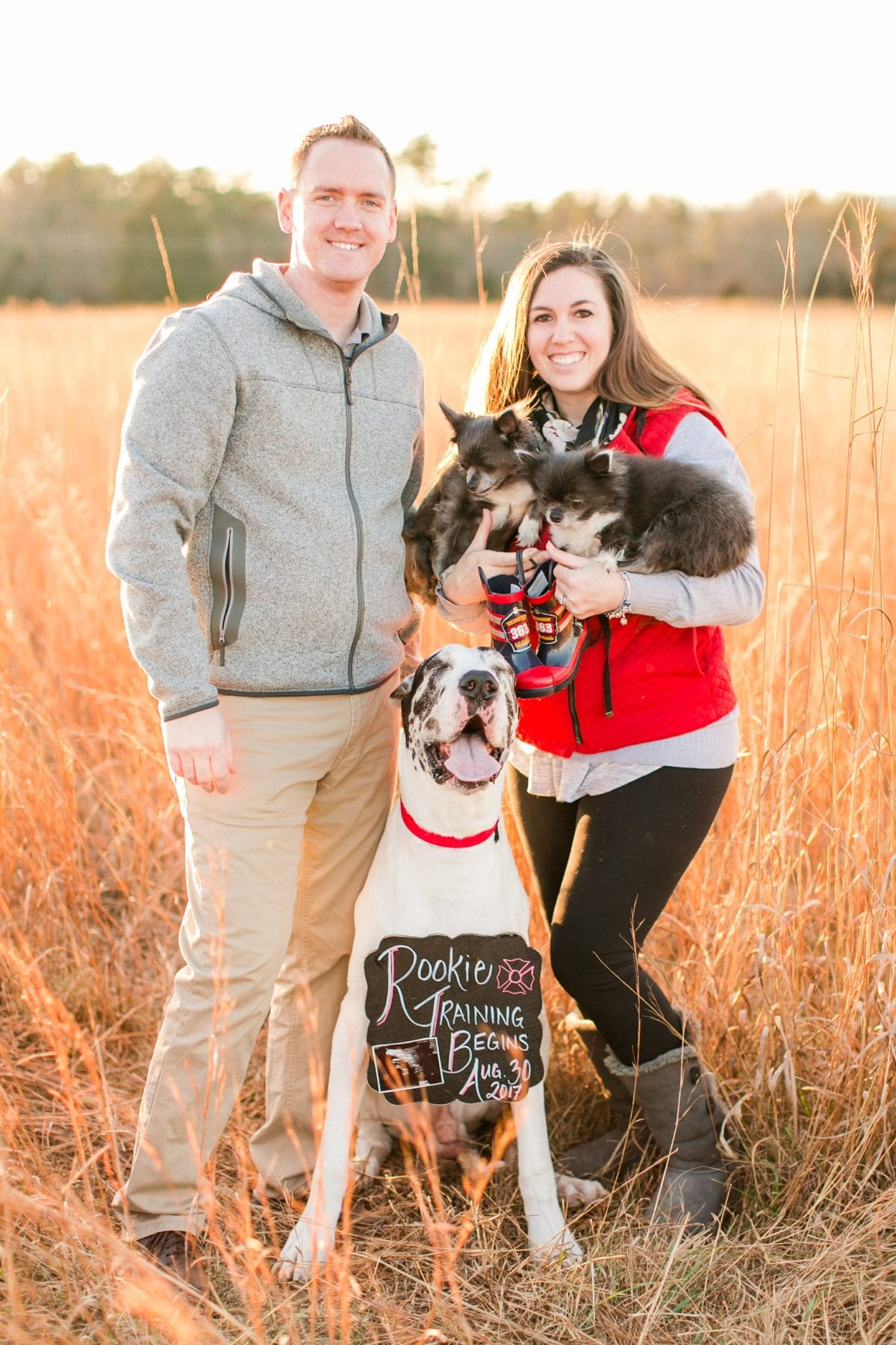 Firefighter Baby Announcement Virginia Photographer Megan Kelsey Photography Jeromy & Becky-121.jpg