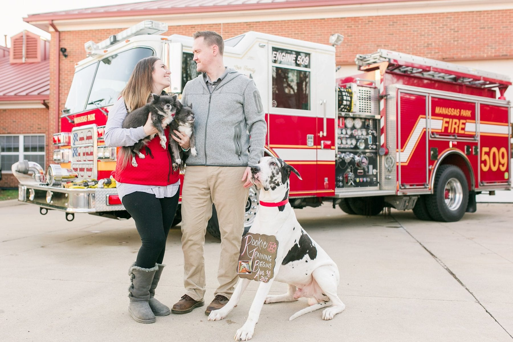 Firefighter Baby Announcement Virginia Photographer Megan Kelsey Photography Jeromy & Becky-51.jpg