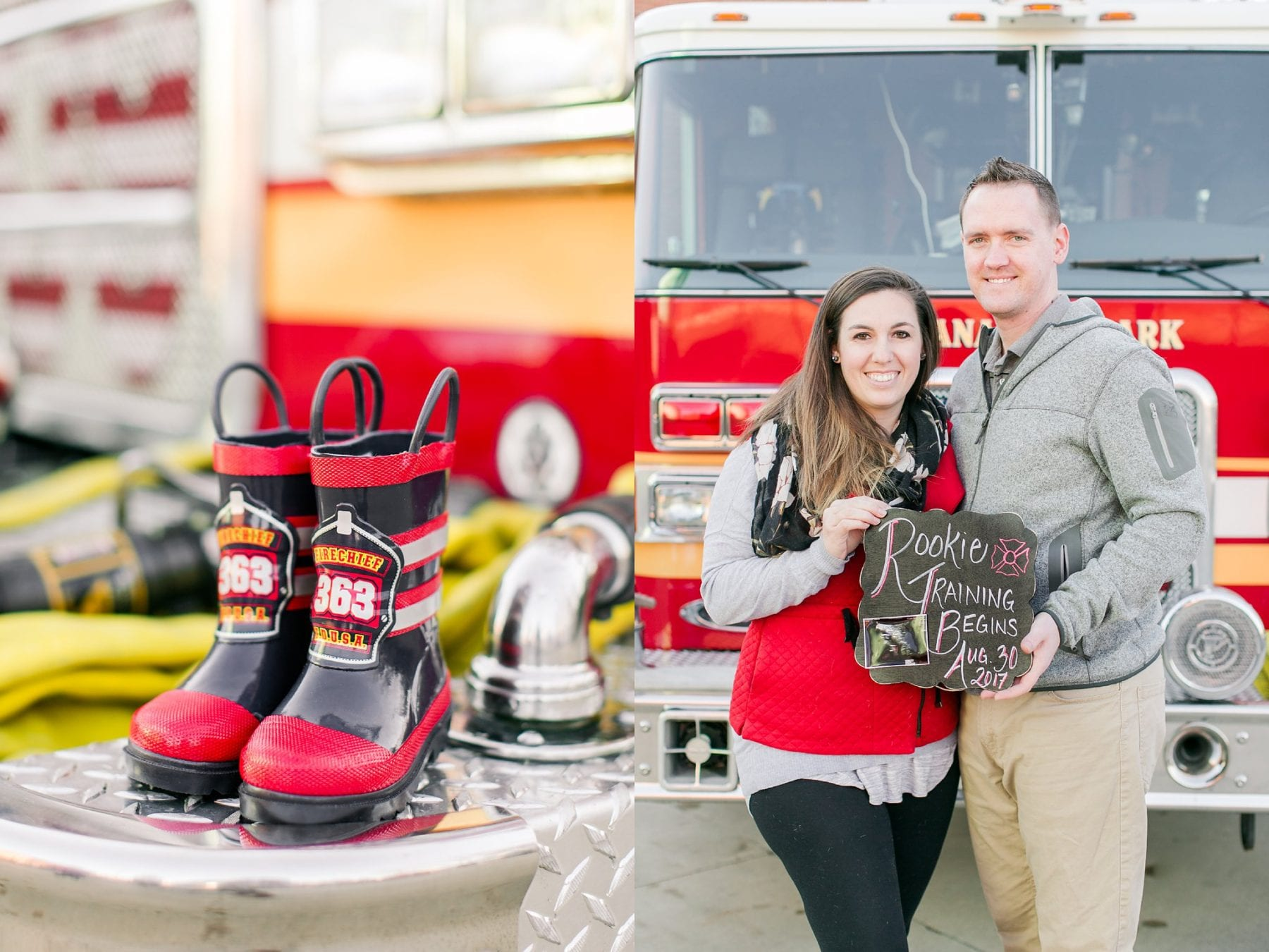 Firefighter Baby Announcement Virginia Photographer Megan Kelsey Photography Jeromy & Becky-6.jpg