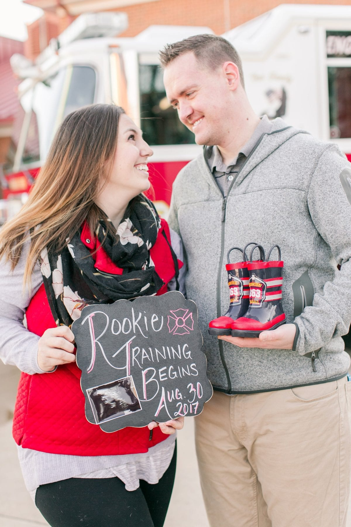 Firefighter Baby Announcement Virginia Photographer Megan Kelsey Photography Jeromy & Becky-90.jpg