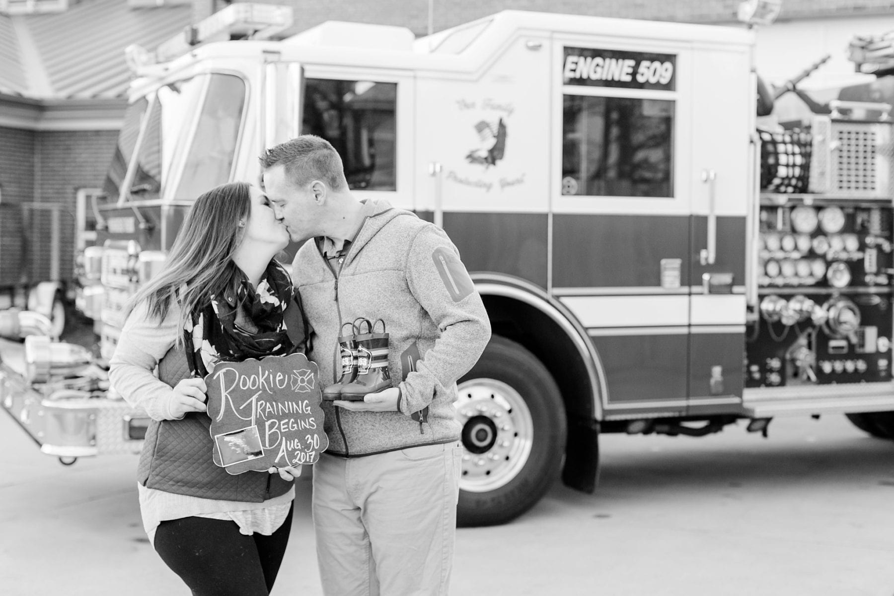 Firefighter Baby Announcement Virginia Photographer Megan Kelsey Photography Jeromy & Becky-97.jpg