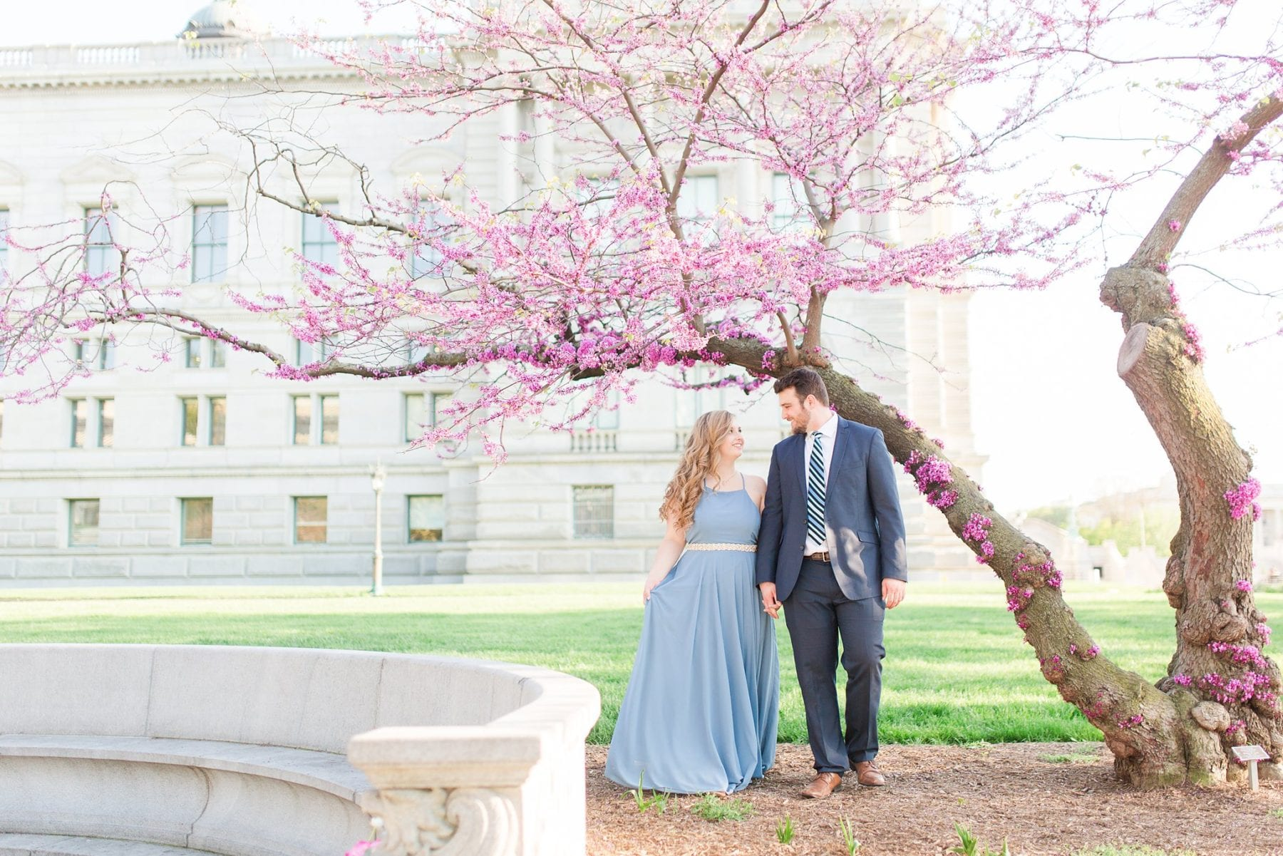 Capitol Hill Engagement Photos Kelly & Zach Washington DC Wedding Photographer Megan Kelsey Photography-109.jpg