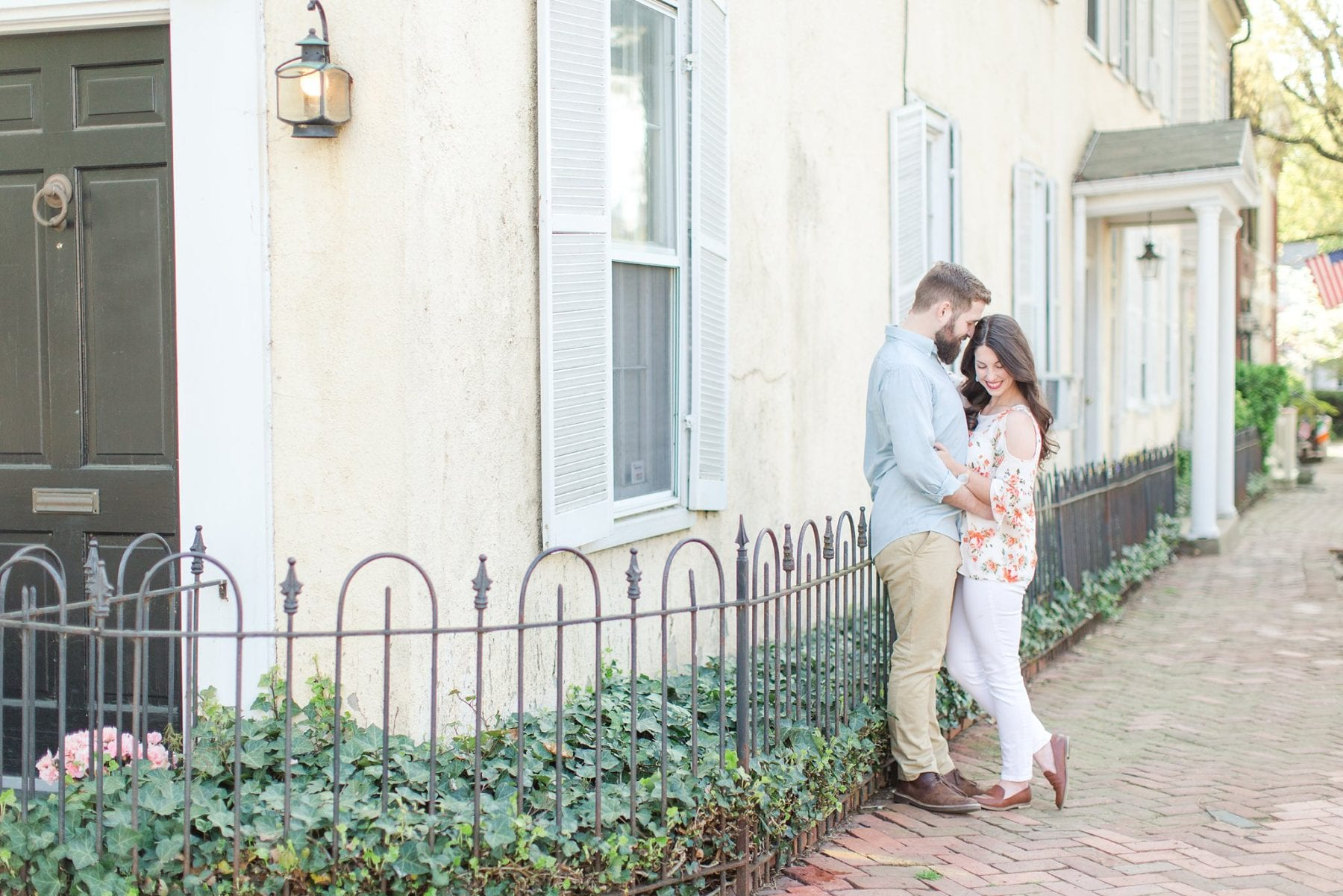Historic Old Town Alexandria Engagement Session Megan Kelsey Photography-68.jpg