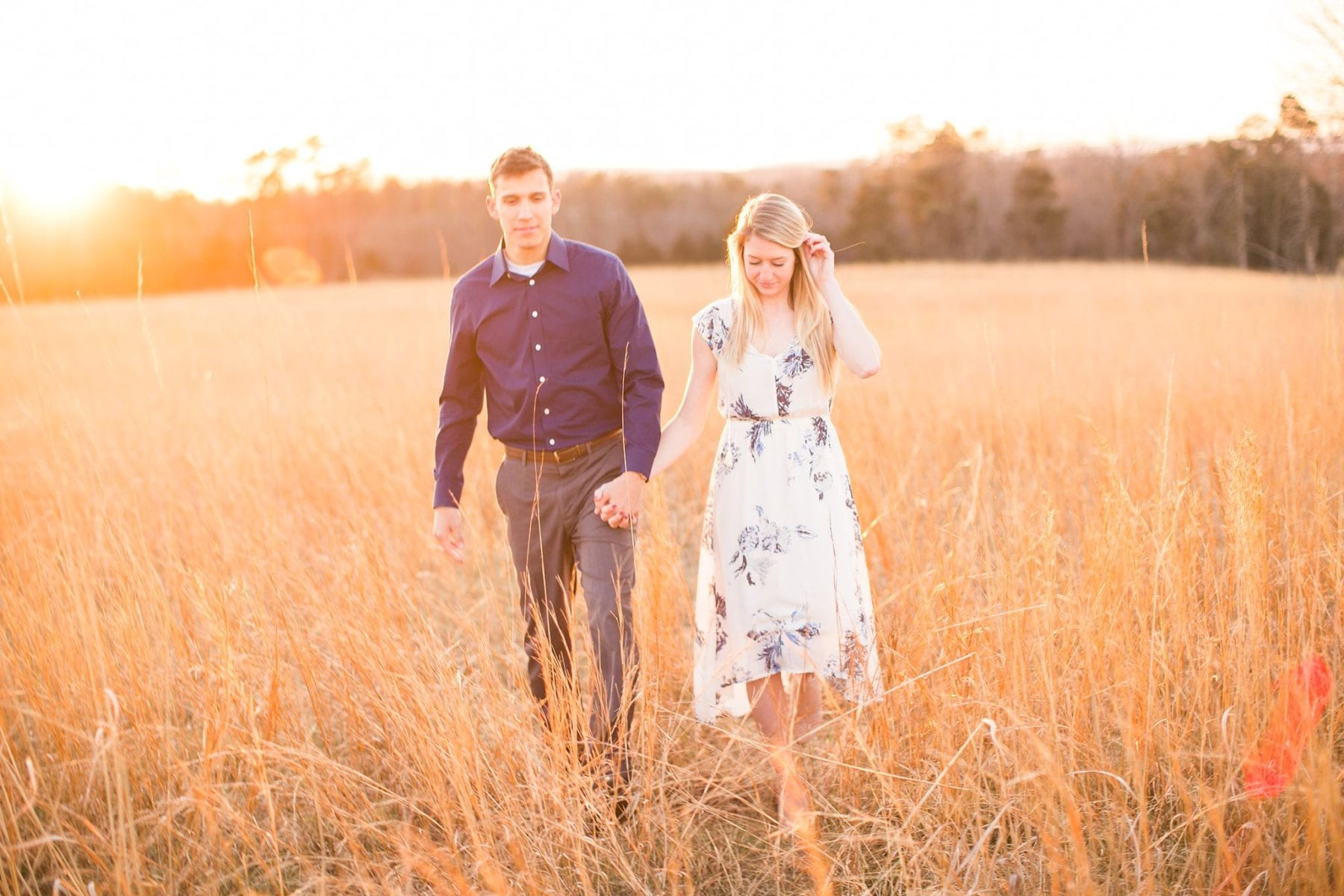 Manassas Battlefield Engagement Session Virginia Wedding Photographer Danielle & Charlie Megan Kelsey Photography-6214.jpg