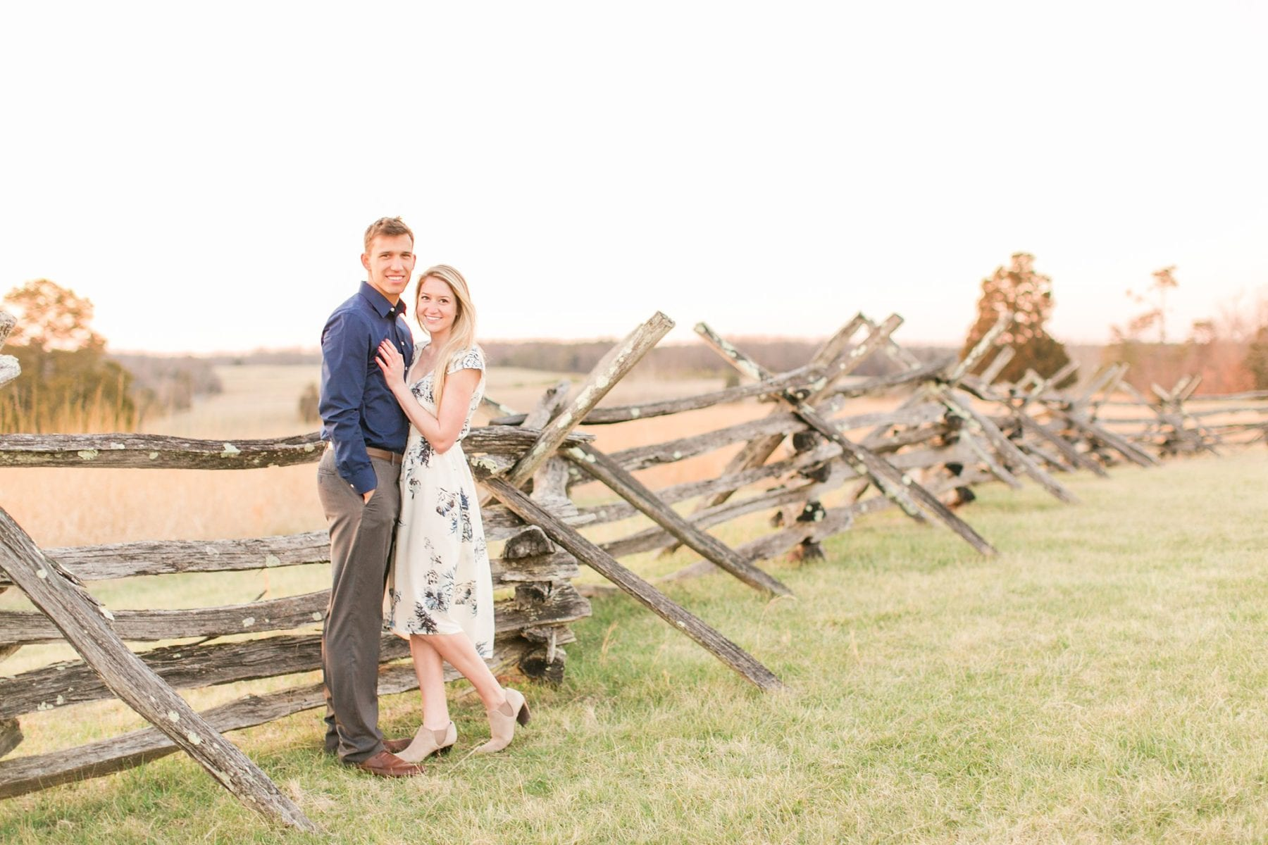 Manassas Battlefield Engagement Session Virginia Wedding Photographer Danielle & Charlie Megan Kelsey Photography-6329.jpg