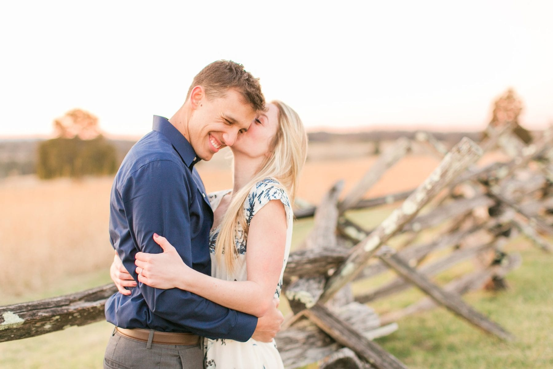 Manassas Battlefield Engagement Session Virginia Wedding Photographer Danielle & Charlie Megan Kelsey Photography-6365.jpg