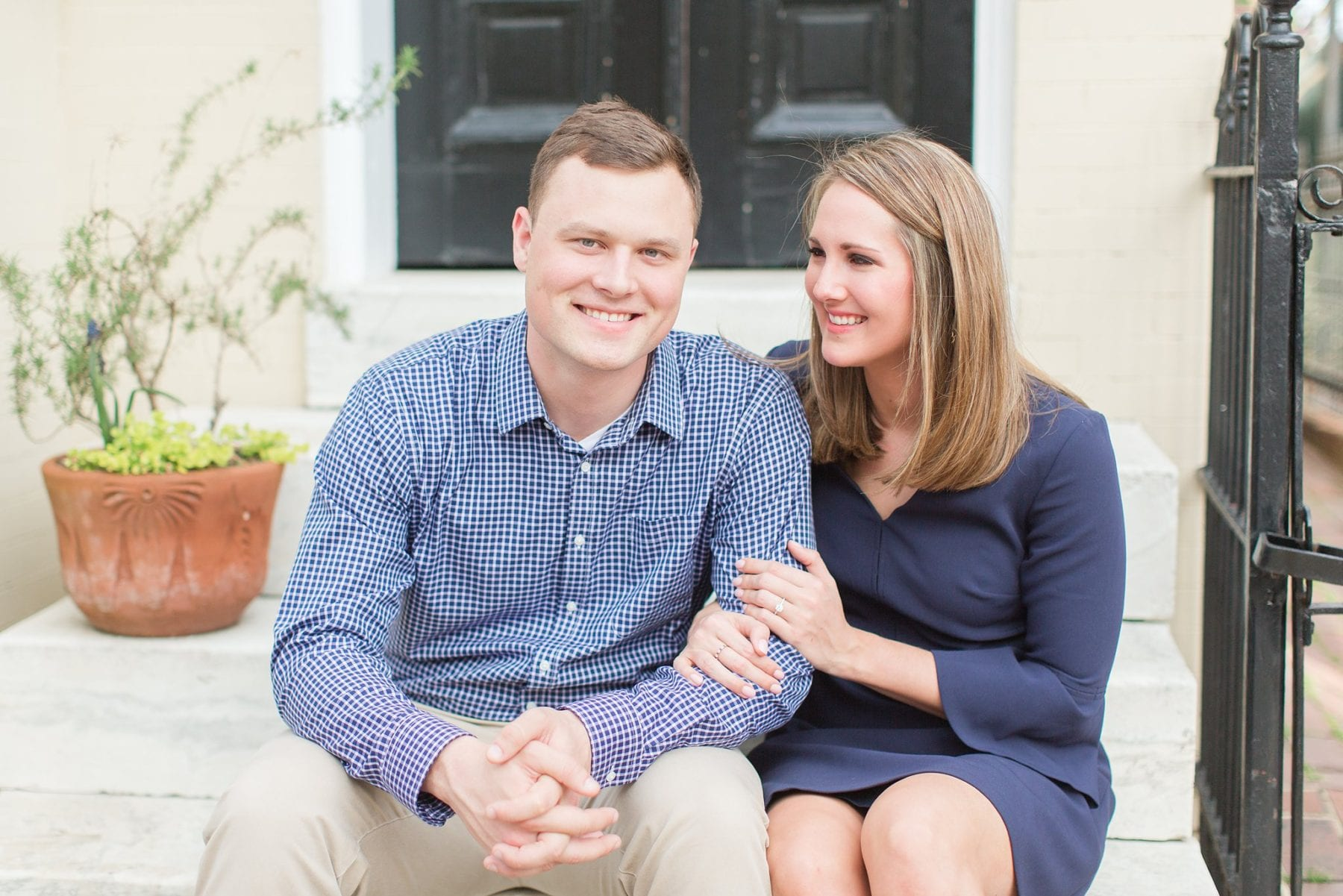 Springtime Old Town Alexandria Engagement Session Matt & Maxie Megan Kelsey Photography-106.jpg