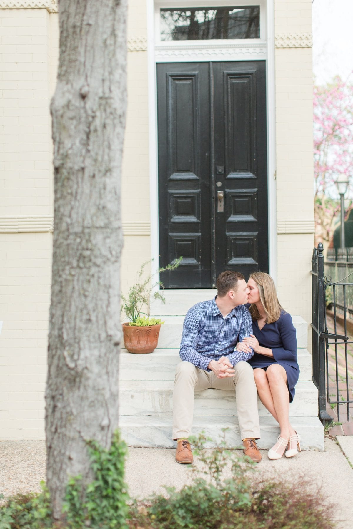 Springtime Old Town Alexandria Engagement Session Matt & Maxie Megan Kelsey Photography-108.jpg