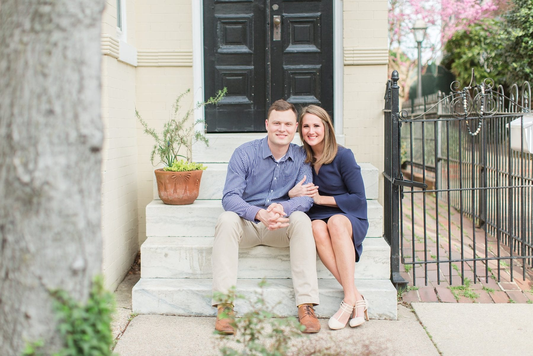 Springtime Old Town Alexandria Engagement Session Matt & Maxie Megan Kelsey Photography-110.jpg