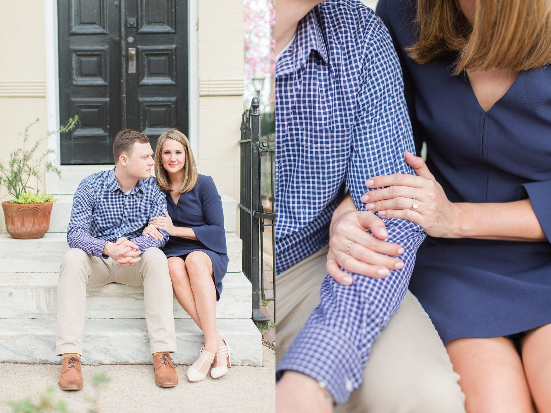 Springtime Old Town Alexandria Engagement Session Matt & Maxie Megan Kelsey Photography-113.jpg