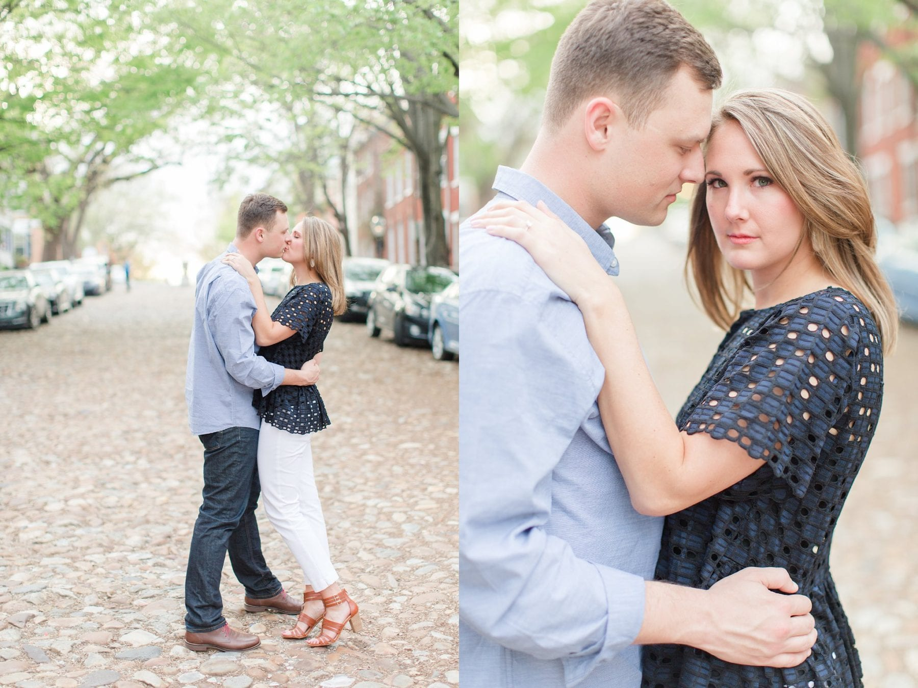 Springtime Old Town Alexandria Engagement Session Matt & Maxie Megan Kelsey Photography-225.jpg