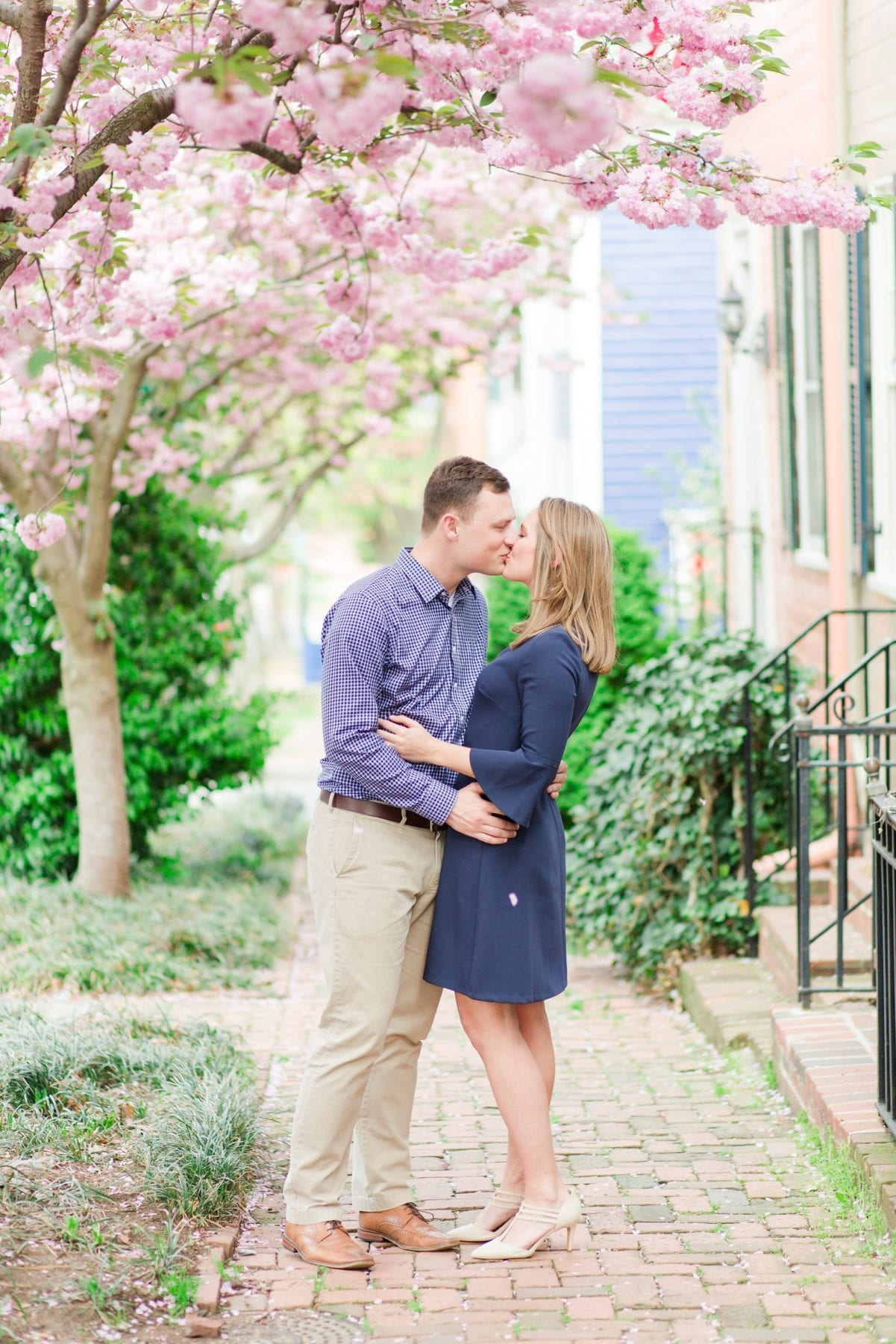 Springtime Old Town Alexandria Engagement Session Matt & Maxie Megan Kelsey Photography-50.jpg