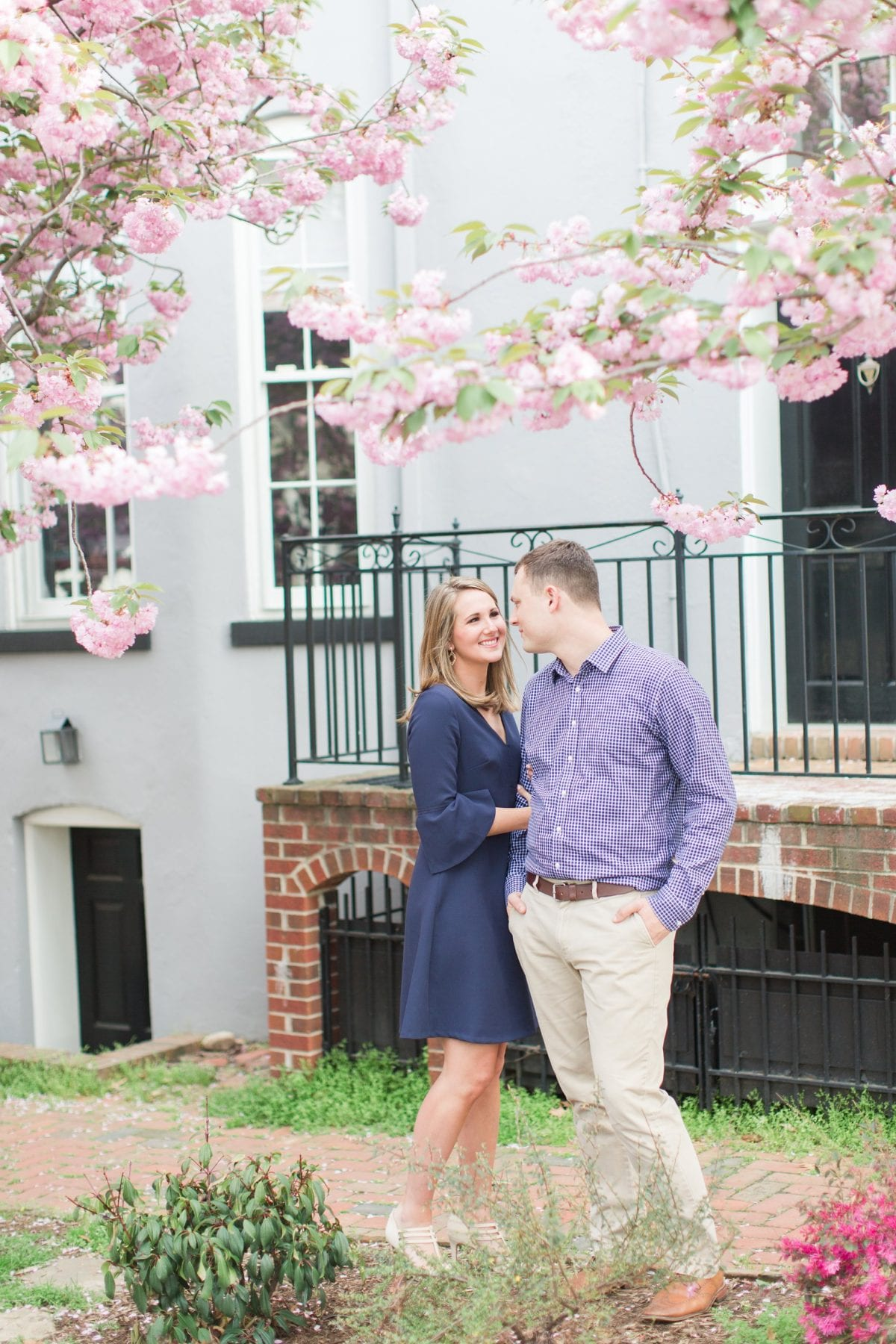 Springtime Old Town Alexandria Engagement Session Matt & Maxie Megan Kelsey Photography-80.jpg