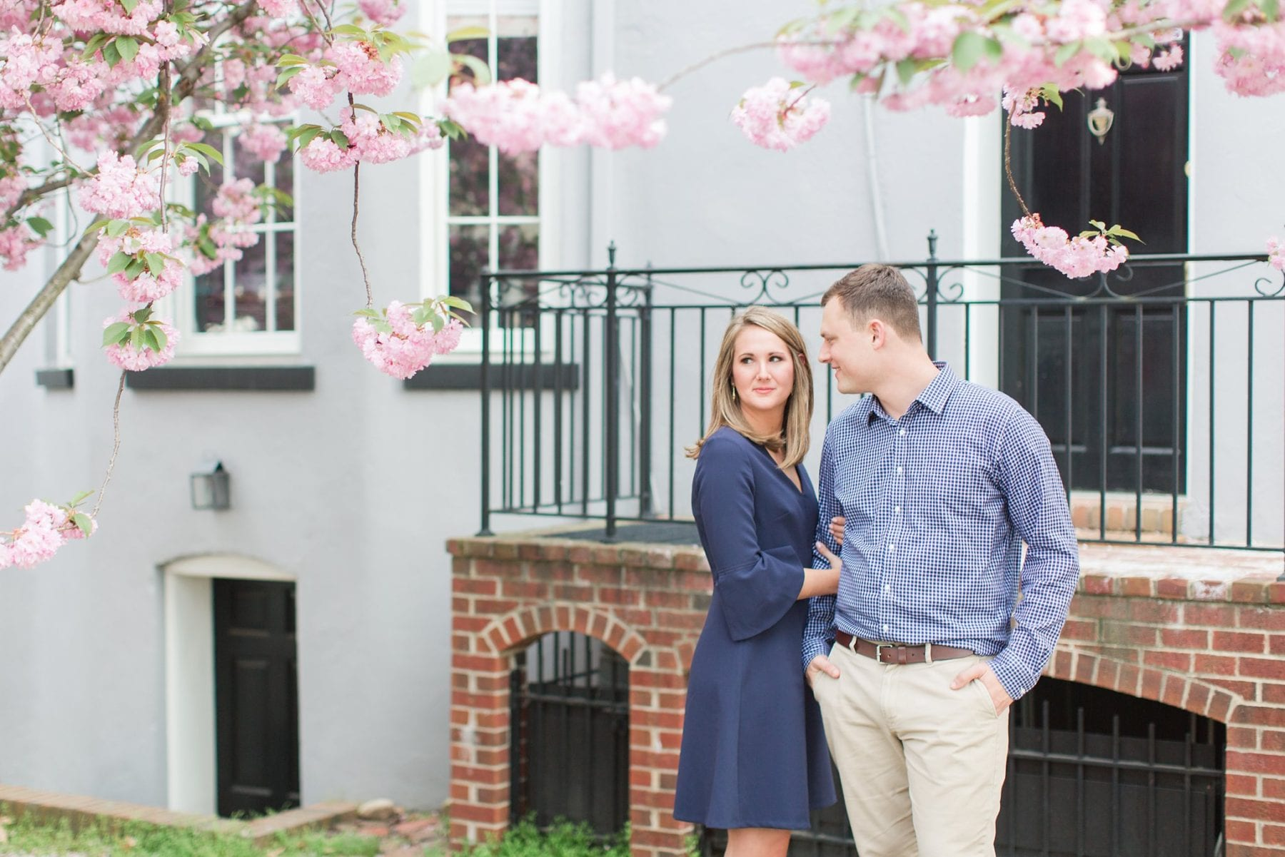Springtime Old Town Alexandria Engagement Session Matt & Maxie Megan Kelsey Photography-83.jpg