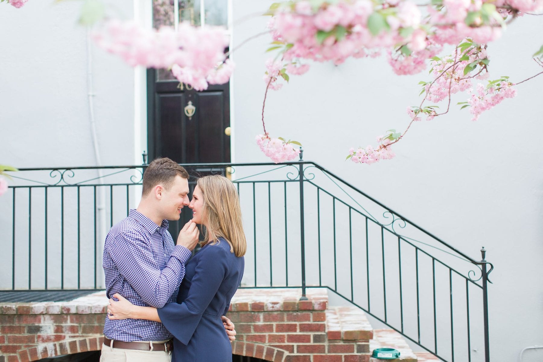 Springtime Old Town Alexandria Engagement Session Matt & Maxie Megan Kelsey Photography-90.jpg