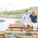 Great Falls Engagement Session | Elizabeth & Chris