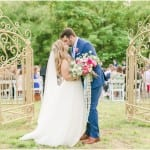 Whimsical Glam DIY Maryland Backyard Wedding | Kelly & Zach