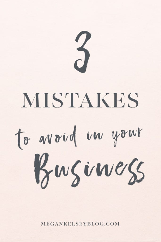 Mistakes To Avoid In Business Tips