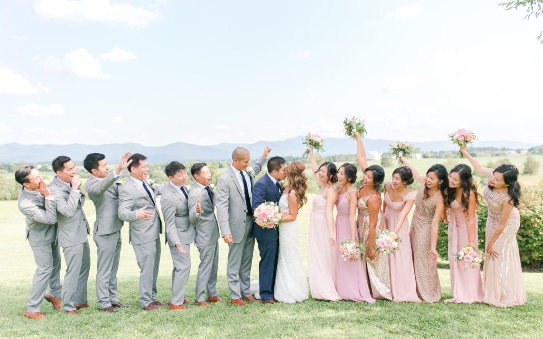 Crosskeys Vineyard Wedding | Sy-yu & Anthony | Harrisonburg, Virginia