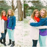 Wintry, Snowy Best Friends Session